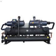 地源热泵机组是利用地球所储藏的太阳能资源作为冷热源,进行能量转换的供暖制冷空调系统