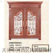 加强豪华型铸铝花艺术门