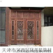 铸铝花门  凤美铸铝花门 天津铸铝花门