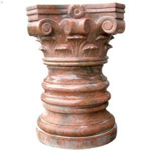 供应烟台石材罗马柱-烟台石英石-烟台秦为石材窗台石材