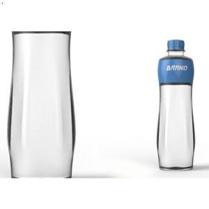 矿泉水瓶设计图片