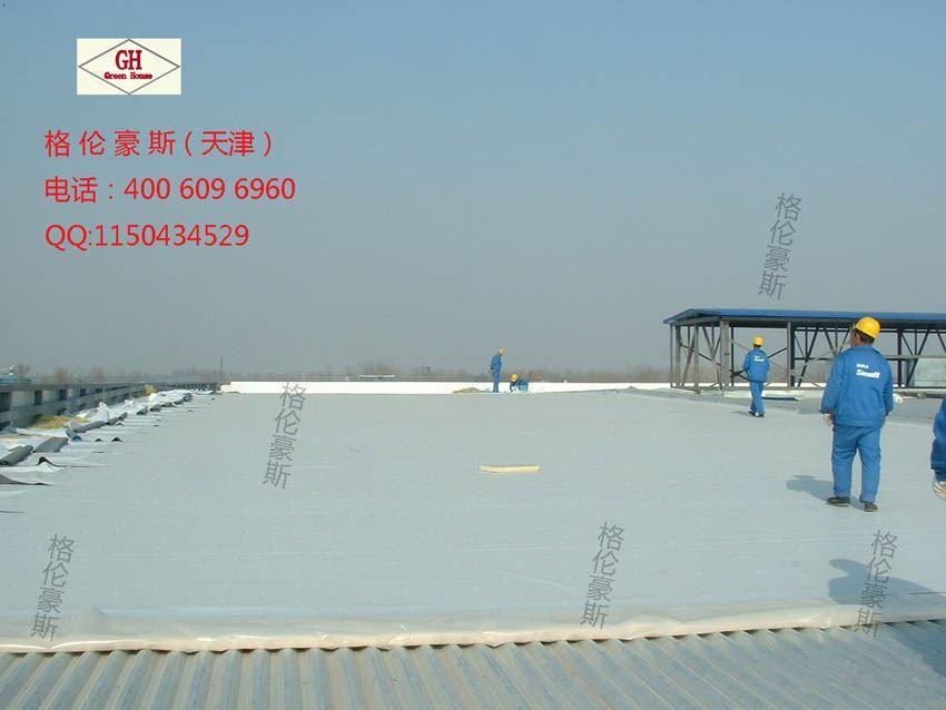 轻钢结构工程图摩比斯柔性屋面柔性屋面施工