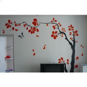 【手绘背景墙】厂家,价格,图片_西安轮廓彩绘艺术工作