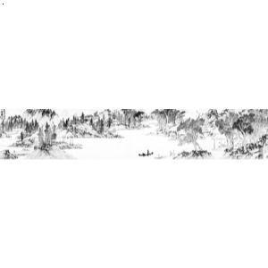 【长安八景手绘图-咸阳古渡】厂家,价格,图片_西安室图片