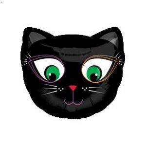 动物面具简笔画猫头