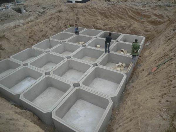 水泥构件蓄水池