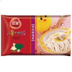 三全-鸡肉鲜海苔-儿童小水饺