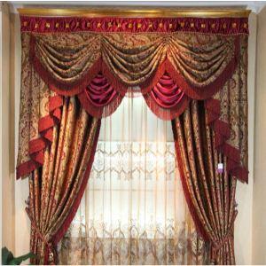 长沙窗帘-欧式客厅展示