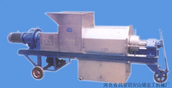 5T/h葡萄压榨机