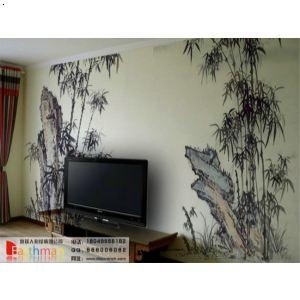 【客厅手绘墙】厂家,价格,图片_西安地球人彩绘装饰
