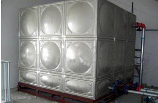 长春白钢水箱