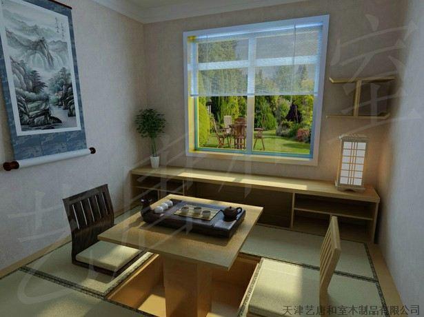 艺唐和室品牌榻榻米,踏步台,储物地箱,升降机,和式椅