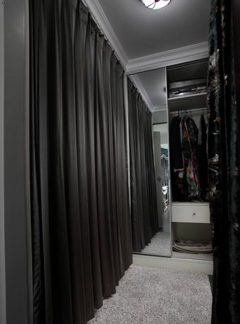 衣帽间窗帘