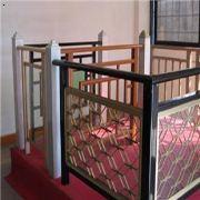 济南铝镁合金艺术扶手楼梯扶手