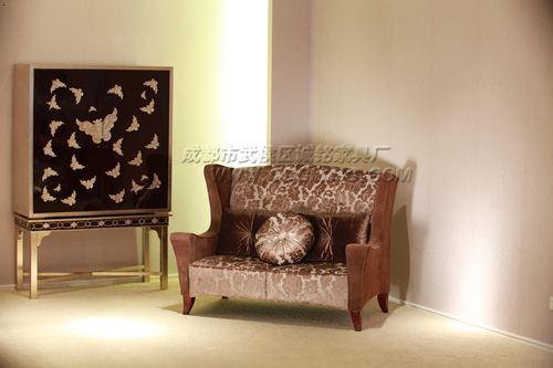 茶楼家具沙发,成都茶楼卡座沙发