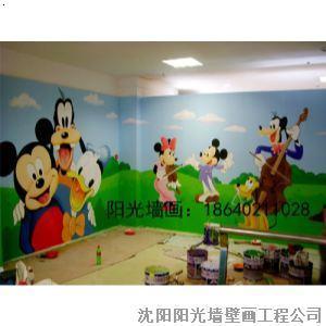【葫芦岛幼儿园墙画丨葫芦岛幼儿园手绘丨葫芦岛幼儿.