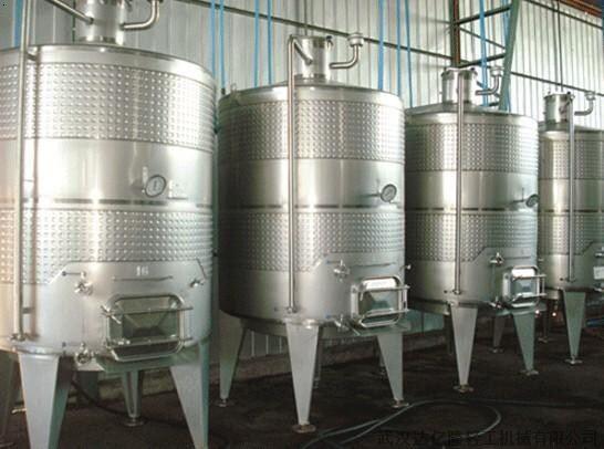 武汉发酵罐  一:简介 用于厌气发酵(如生产酒精,溶剂)的发酵罐结构