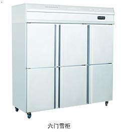 六门雪柜、商用厨具,