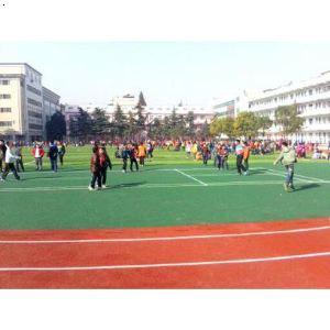 【安陆市v跑道跑道透气型小学及人造草坪足球场雒小学教师容图片