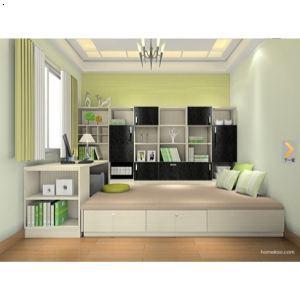 5平米卧室装修做榻榻米怎么装修:  榻榻米一般做在小卧室或者小书房