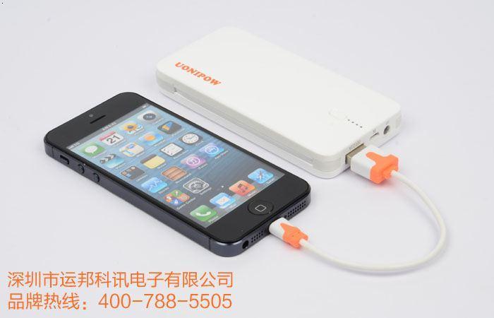uonipow优泡手机移动电源6000m