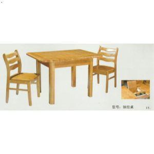 桌椅俯视图矢量图
