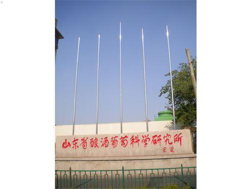 济南不锈钢旗杆
