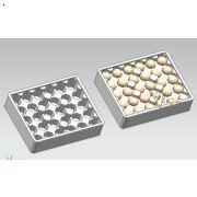 30枚鸡蛋泡沫托 西环模具厂质优价廉