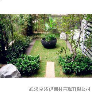 武汉私家花园简约入户小庭院设计建造