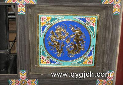 产品展示 寺庙佛像彩绘工程 天花彩绘  保定市清韵古代建筑工程有限