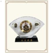 SJ-010水晶金扇钟