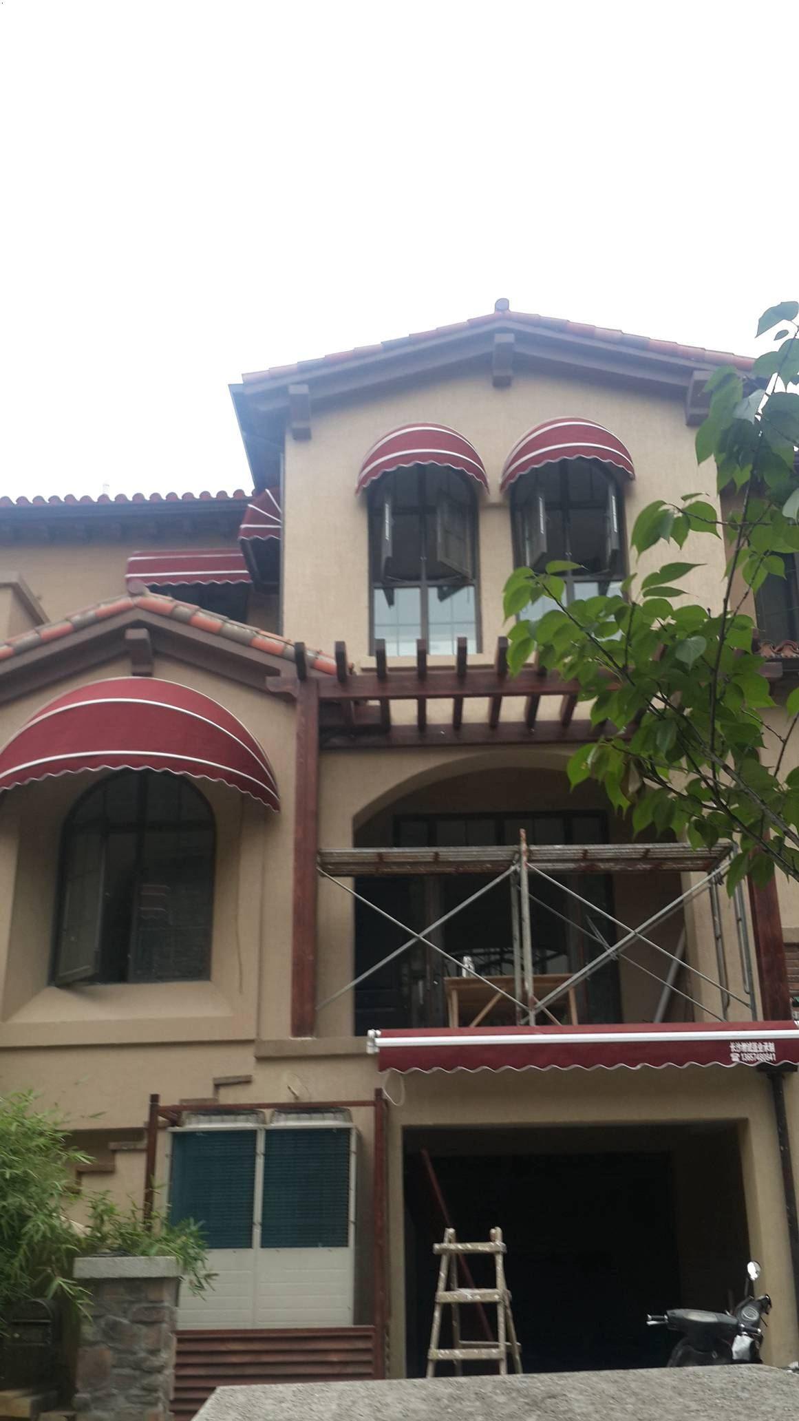 西瓜型遮阳蓬遮雨棚
