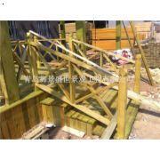 青岛防腐木栏杆