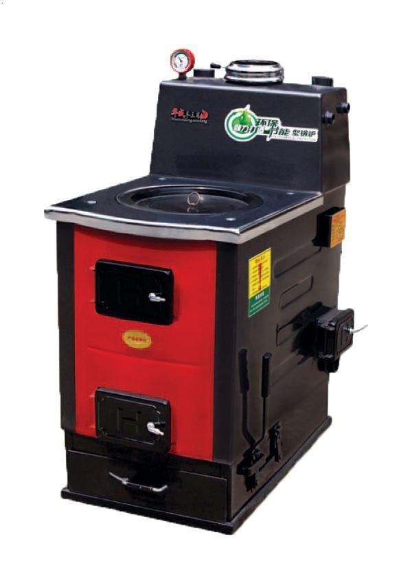 反燒采暖爐三火道產品結構:1