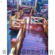 青岛防腐木景观|青岛防腐木工程|防腐木生产施工