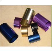 铝合金小零件阳极氧化染紫色,金色,兰色,黑色