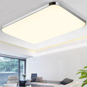 立木LED吸顶灯现代简约长方形客