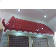 屋顶琉璃瓦、造型