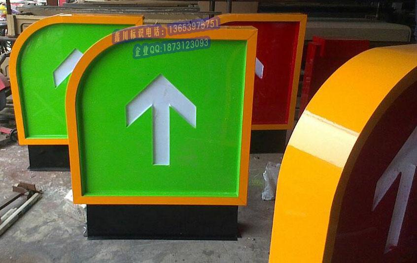 加油站灯箱|加油站灯