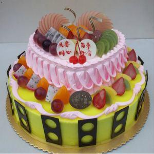哈尔滨创意蛋糕哈尔滨个性生日蛋糕哈尔滨手绘蛋糕 卡通狗 2126,图片