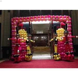 重庆开业庆典气球布置