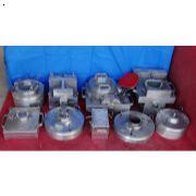 泵体零件9种精铸件模具-1