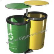 北京垃圾桶生产厂家国武供应GW-302新艺术分类垃圾桶户,是优质的北京垃圾桶批发厂家。
