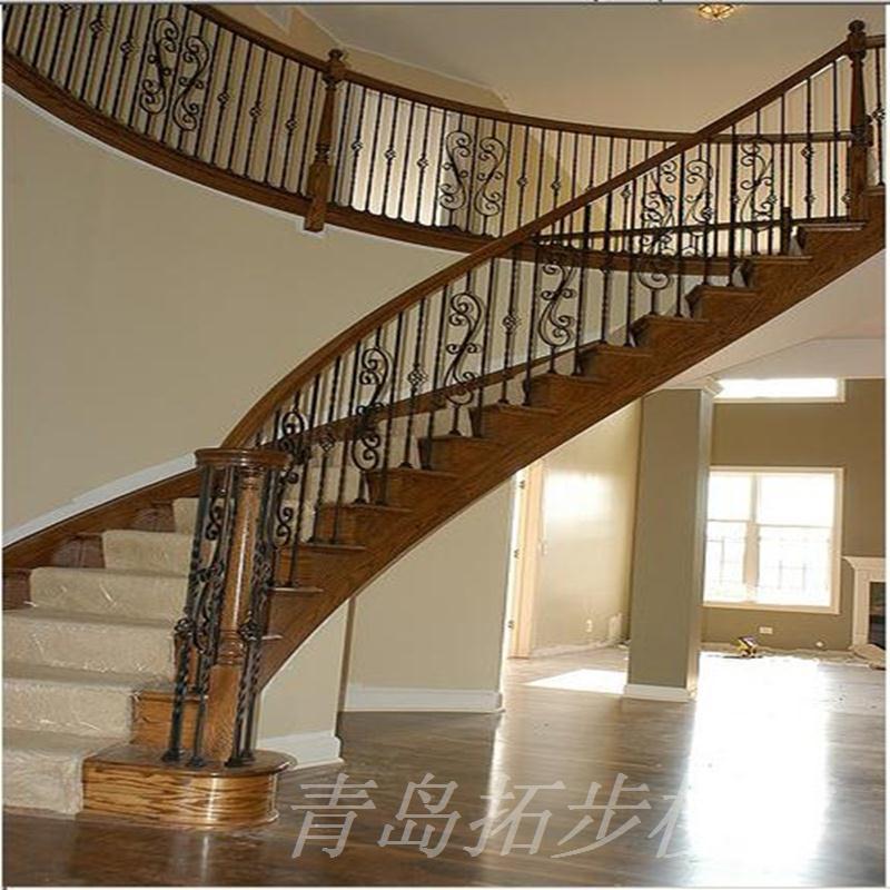 钢木楼梯-10