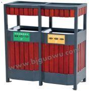 北京垃圾桶批发-国武供应GW-475双层木条分类垃圾桶户外垃圾桶系列,专业生产垃圾桶,是优质的北京垃圾桶生产厂家。联系方式:13366583715