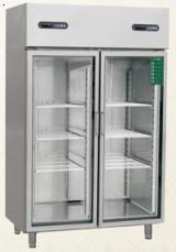 双玻璃门冷藏柜