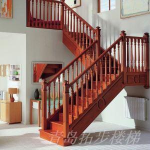 实木楼梯-20