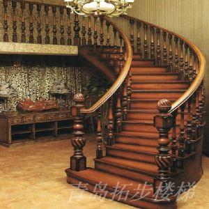 实木楼梯-21