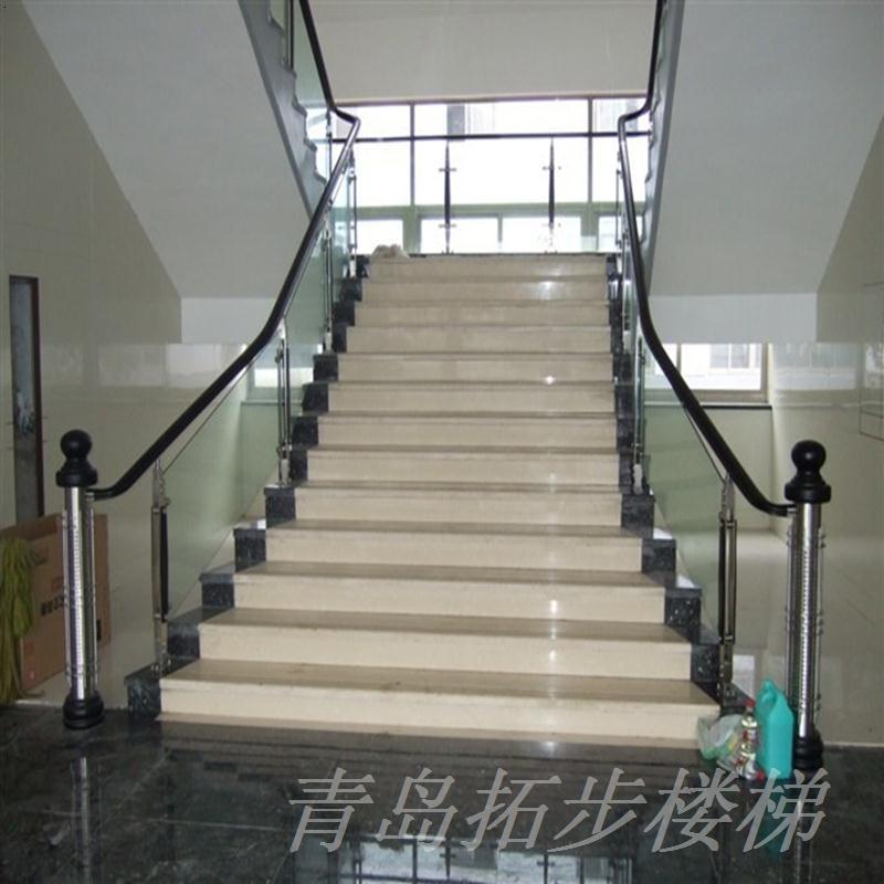 实木楼梯-22