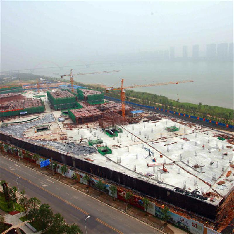长沙塔吊租赁中铁建设长沙湘江九号项目